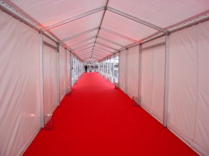 Covered walkways for events