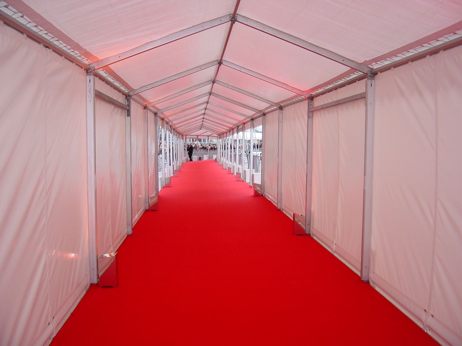 Covered walkways for events Walkways & Temporary Structure