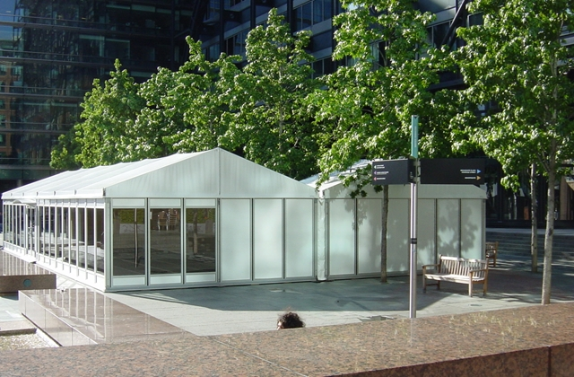 Marquee and temporary structures for events