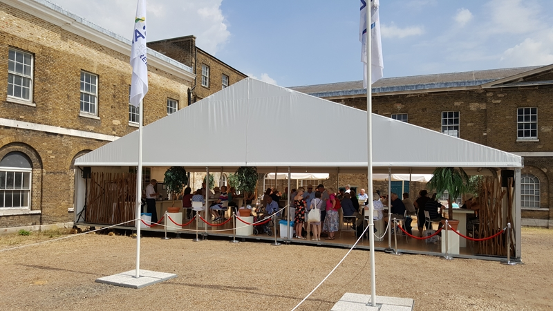 Sail Royal Greenwich Marquee Hire