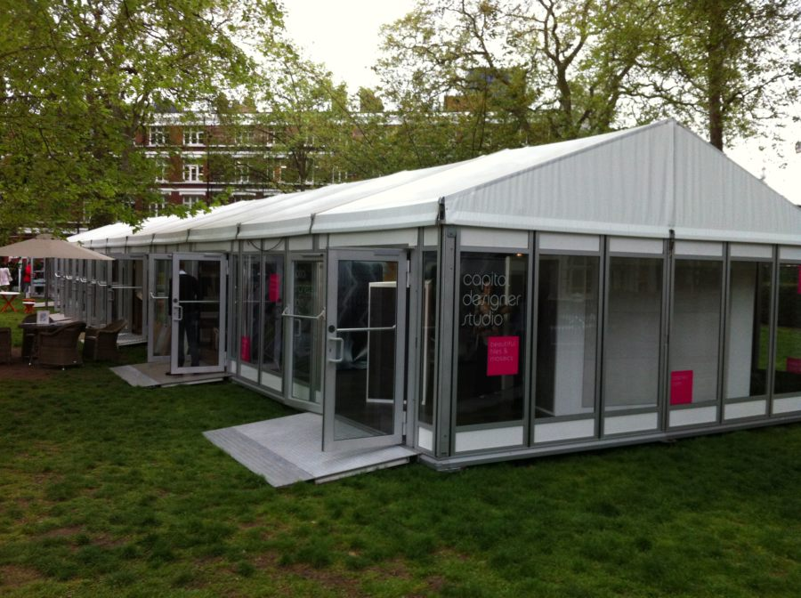 Covered walkways for London venues & Marquee hire in London for corporate events - Allspan