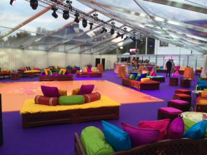 luxury event marquee hire