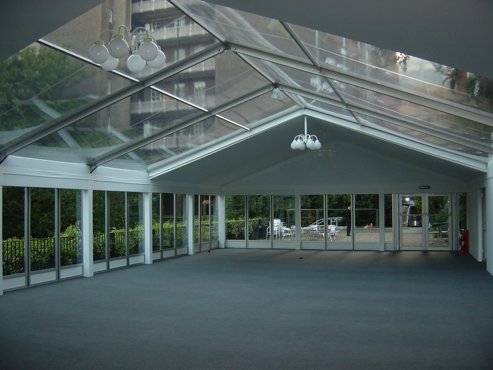 Cassette Levelled Flooring - Marquee Hire Services London
