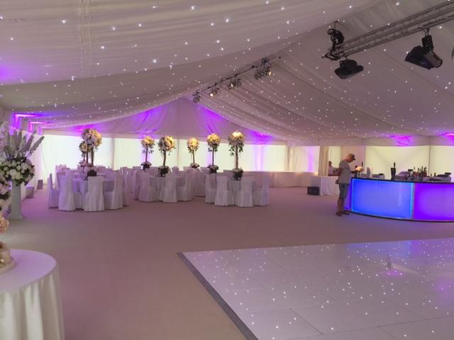 Stylish wedding structures