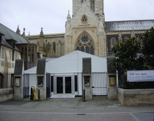 Southwark Cathedral - Marquee Hire Services London