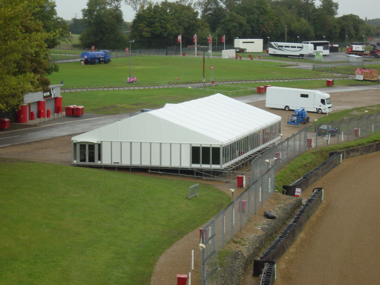 Brand Hatch Marquees for corporate events