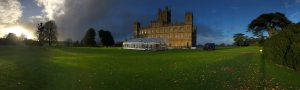 Highclere Castle - Allspan Losberger Structure