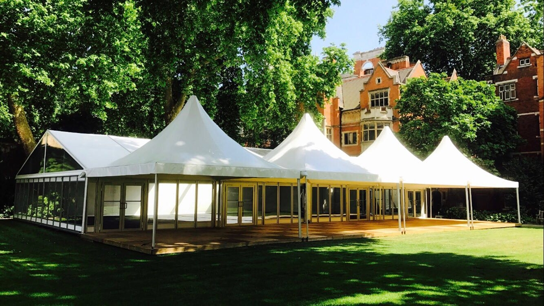 Westminster Abbey Allspan Event Marquee